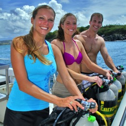 DiveHQ Westhaven PADI Scuba Diving Summer School Courses